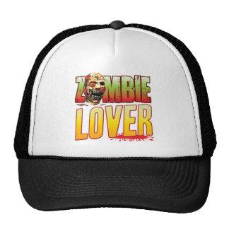 Cabeza del zombi del amante gorras de camionero