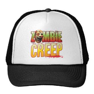 Cabeza del zombi del arrastramiento gorra
