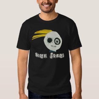 cabeza del zombi del booga del ooga playera