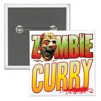 Cabeza del zombi del curry pins