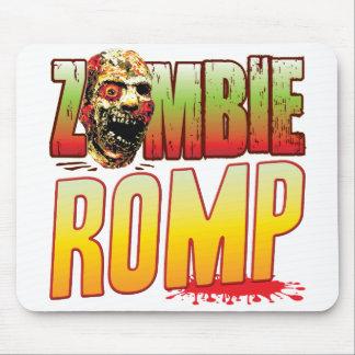 Cabeza del zombi del jugueteo alfombrillas de raton