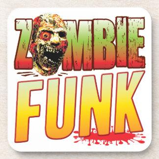 Cabeza del zombi del miedo posavaso