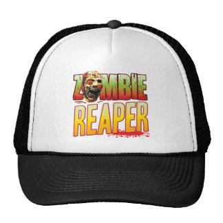 Cabeza del zombi del segador gorra