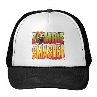 Cabeza del zombi del Smasher Gorro De Camionero