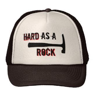 Cabeza dura como una roca gorras de camionero