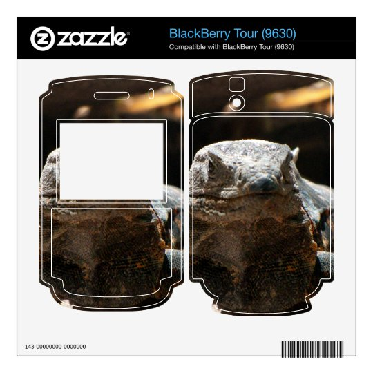Cabeza en iguana BlackBerry tour skins