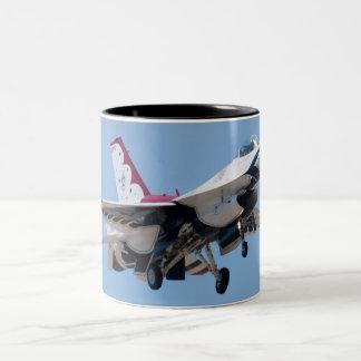 Cabeza en la taza del U.S.A.F. Thunderbird 7