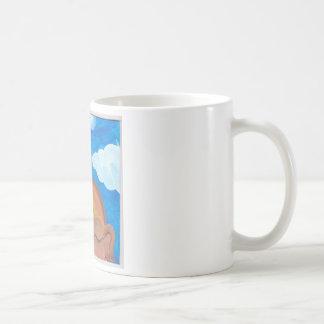cabeza en las nubes #2 .jpg taza de café