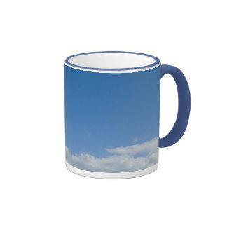 Cabeza en las nubes tazas de café