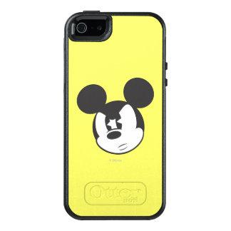 Cabeza enojada clásica de Mickey el | Funda Otterbox Para iPhone 5/5s/SE