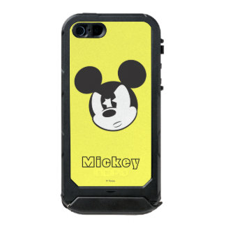 Cabeza enojada clásica de Mickey el | Funda Para iPhone 5 Incipio ATLAS ID