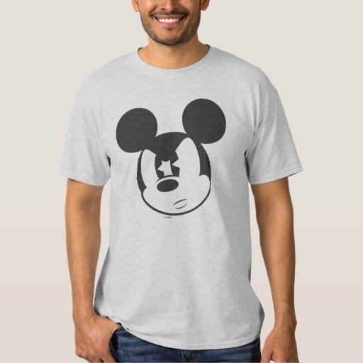 Cabeza enojada clásica de Mickey el | Playera