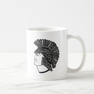 Cabeza espartano taza