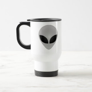 Cabeza extranjera taza de café