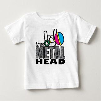Cabeza futura del metal playera
