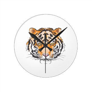 Cabeza grande del tigre relojes
