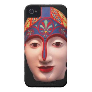 Cabeza griega del guerrero carcasa para iPhone 4 de Case-Mate
