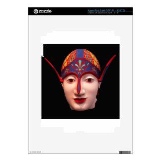 Cabeza griega del guerrero iPad 3 pegatina skin
