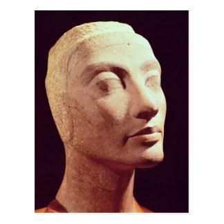 Cabeza inacabada de Nefertiti, nuevo reino Postal