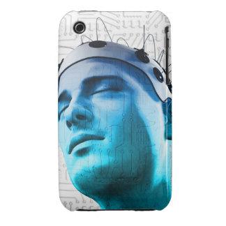Cabeza masculina Case-Mate iPhone 3 protector