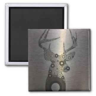 cabeza moderna de los ciervos del extracto del paí iman para frigorífico