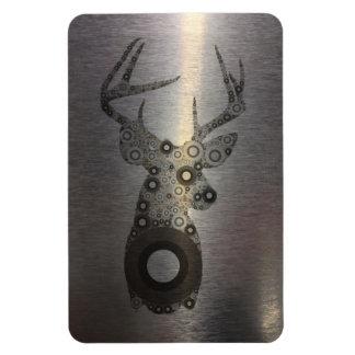 cabeza moderna de los ciervos del extracto del paí imán