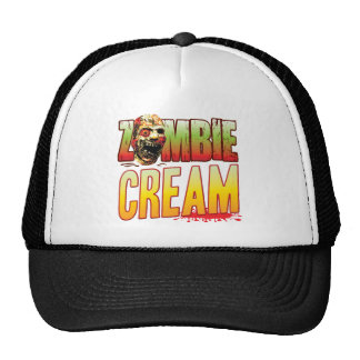 Cabeza poner crema del zombi gorros