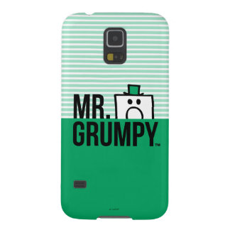 Cabeza que mira a escondidas de Sr. Grumpy el   Funda Galaxy S5