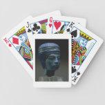 Cabeza real falsa, originalmente probablemente Tut Baraja Cartas De Poker