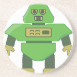 cabeza robot.png del casco 201301_0001 posavasos diseño