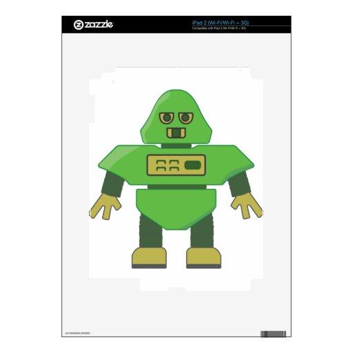 cabeza robot.png del casco 201301_0001 iPad 2 calcomanías