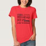 Cabeza roja - Aint Goin abajo - camisa de Garth
