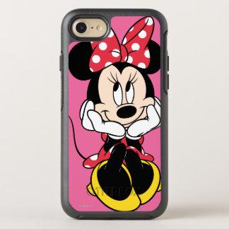 Cabeza roja de Minnie el   en manos Funda OtterBox Symmetry Para iPhone 7
