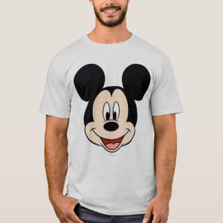 Cabeza sonriente moderna de Mickey el | Playera
