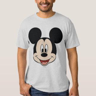 Cabeza sonriente moderna de Mickey el | Playeras