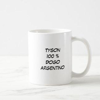 Cabeza, Tyson100 %DogoArgentino Coffee Mug