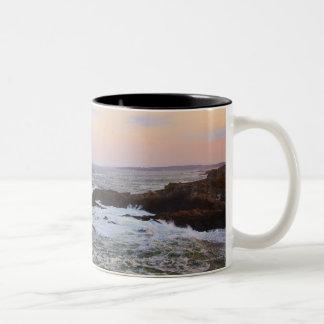 Cabeza y opinión de Portland a Océano Atlántico Taza De Café De Dos Colores