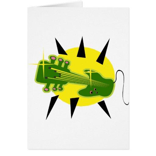 cabezal híbrido de la guitarra encima de green.png tarjeta
