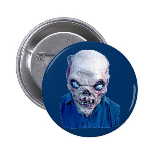Cabezas asustadizas de Halloween Pin Redondo 5 Cm