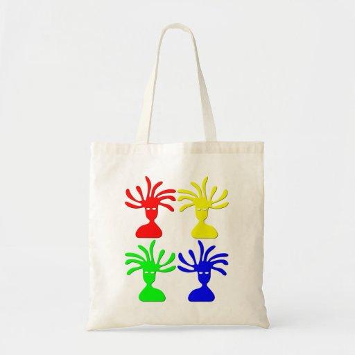 Cabezas brillantes bolsa