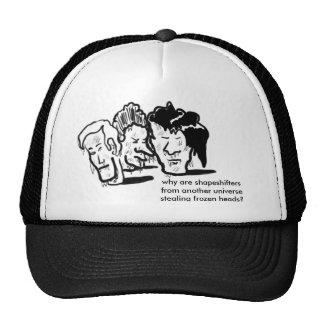 cabezas congeladas gorras