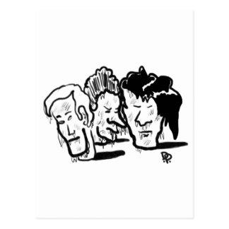 cabezas congeladas postales