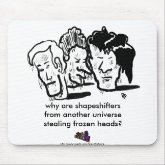 cabezas congeladas alfombrillas de ratones