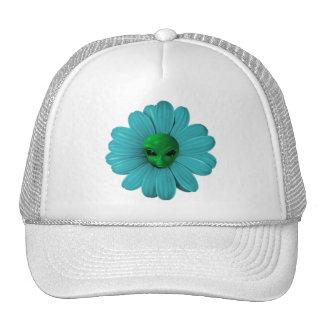 Cabezas de flor extranjeras gorros bordados