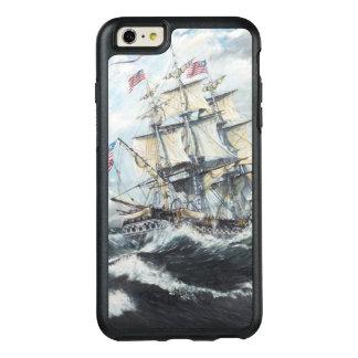 Cabezas de la constitución de USS para el HM Funda Otterbox Para iPhone 6/6s Plus