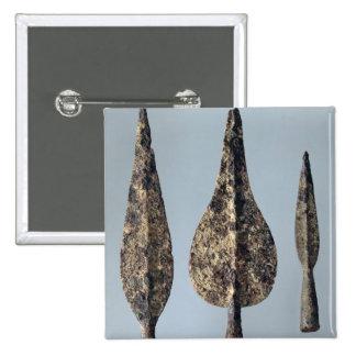 Cabezas de la lanza y de la jabalina, 475-300 A.C. Pin Cuadrado