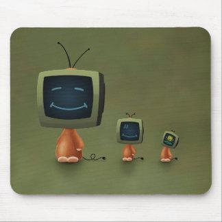 Cabezas de la TV Mouse Pad