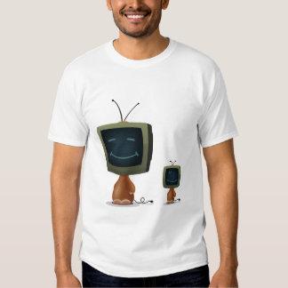 Cabezas de la TV Poleras