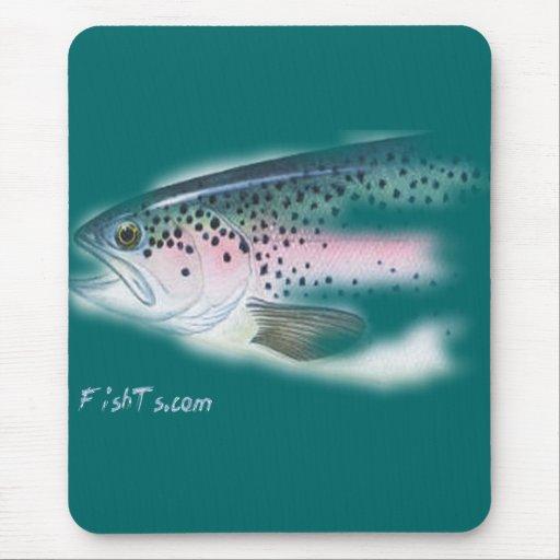 Cabezas de los pescados por FishTs.com Alfombrilla De Ratón