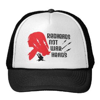 Cabezas de los Redheads no Gorros
